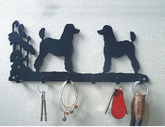 6 Hook Key Rack